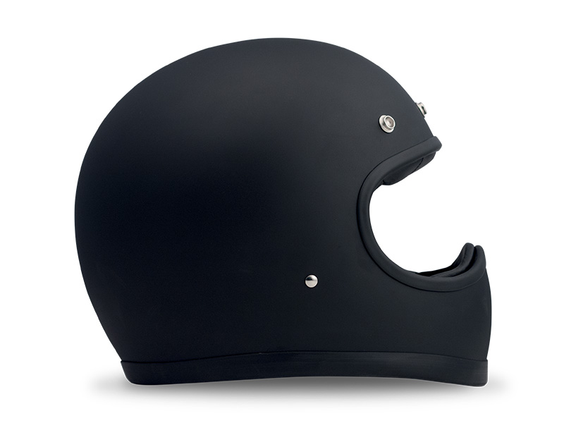 Racer Matt Black Carbon Kevlar Shell