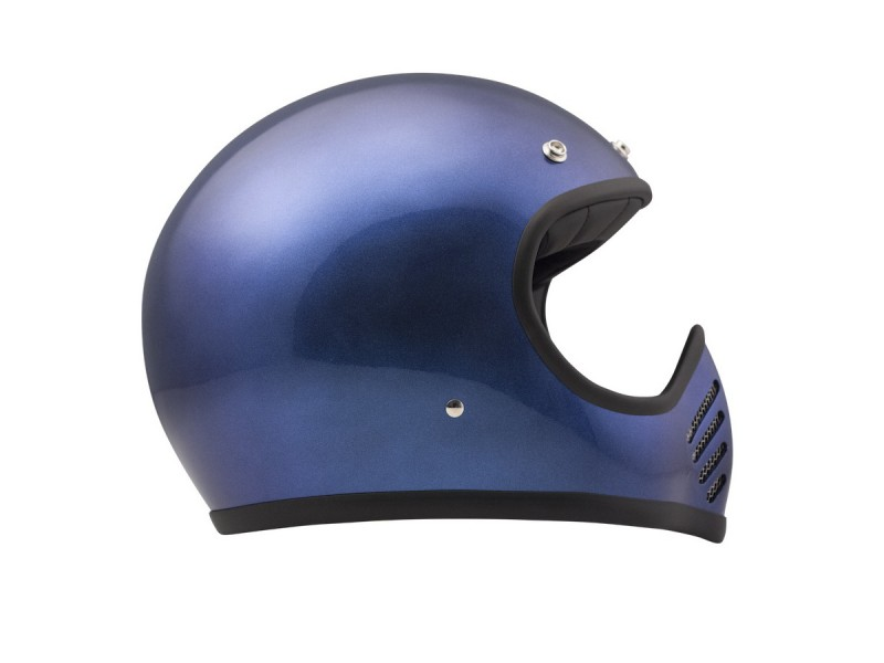 Seventyfive Metallic Blue Carbon Kevlar Shell