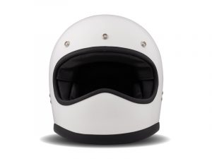 Racer White Carbon Kevlar Shell